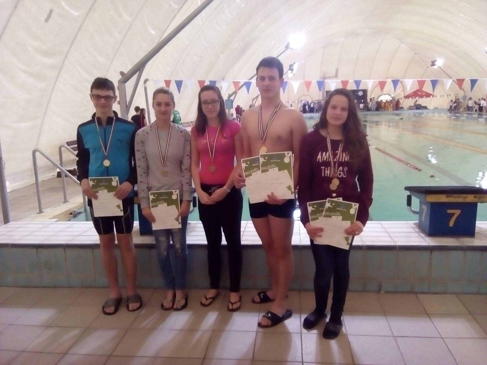 Diákolimpiai Úszás Megyei Döntő