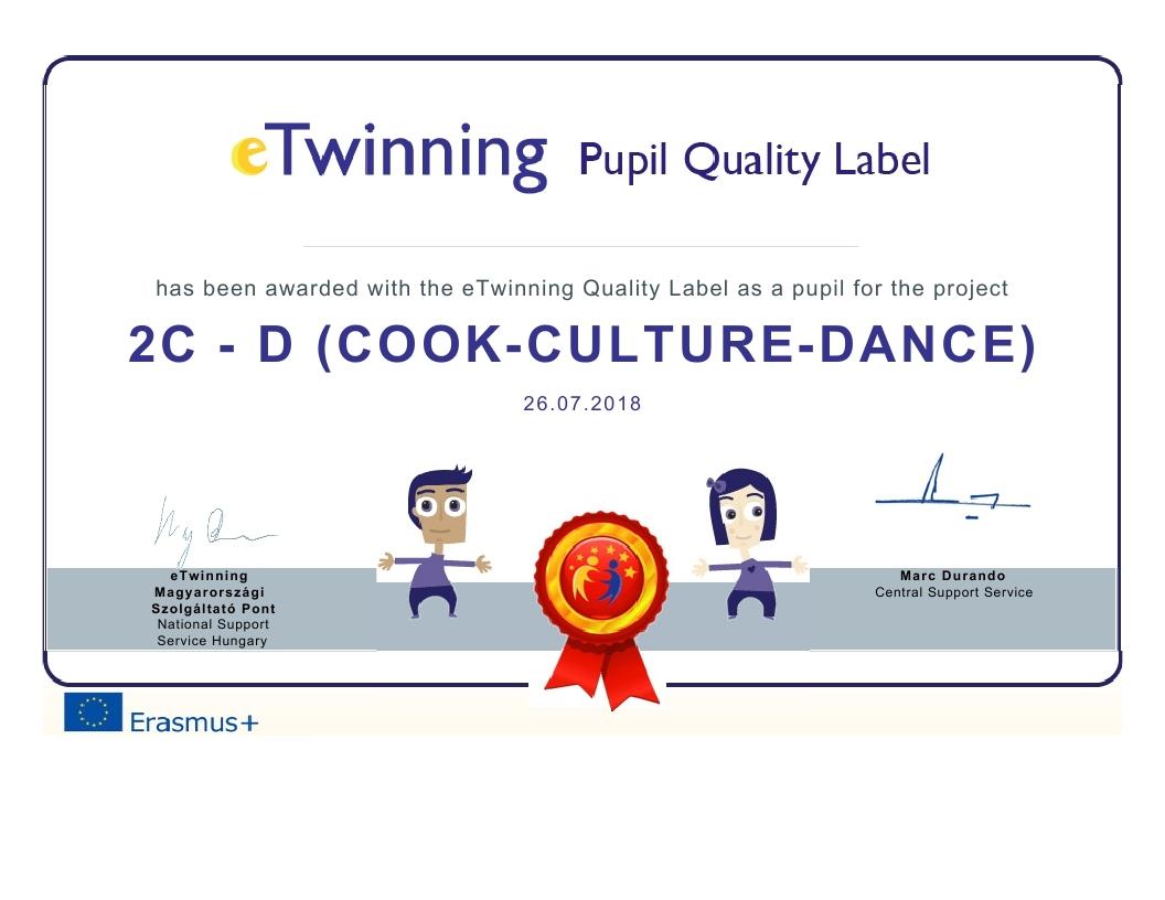 2C - D (Cook - Culture - Dance)