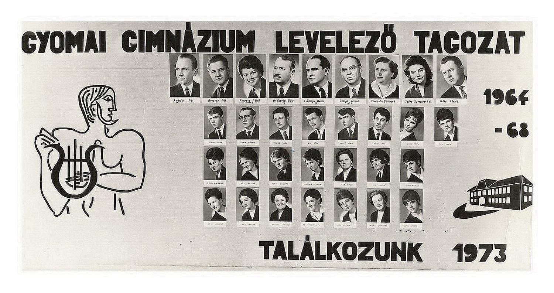 1968 levelezőtagozat
