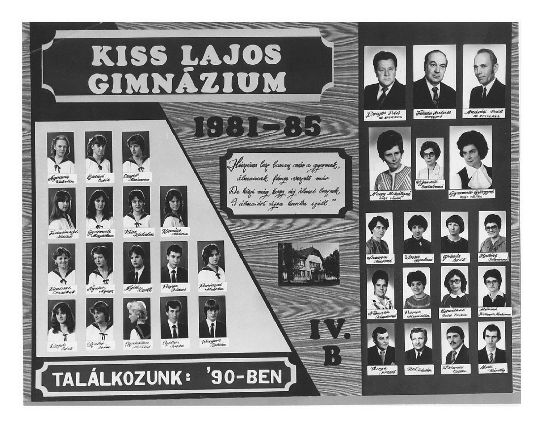 1985 IV. B