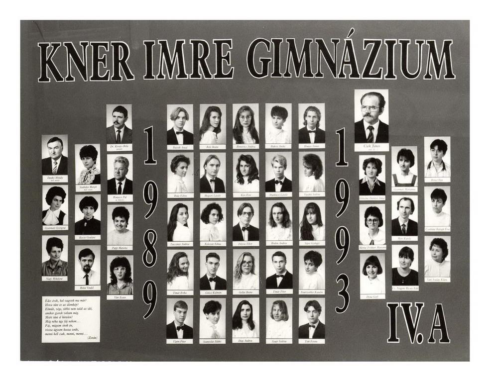 1993 IV. A