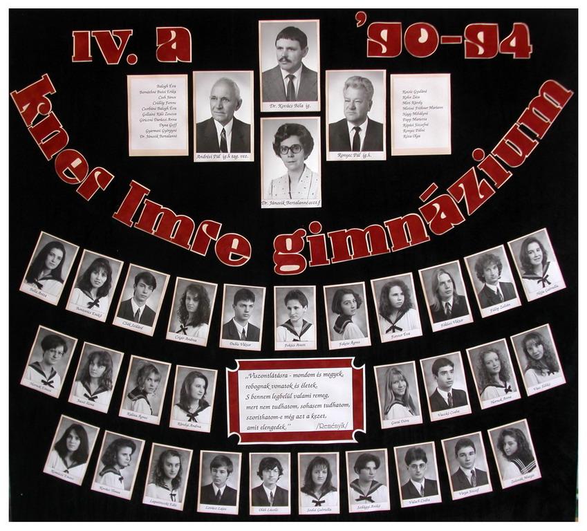 1994 IV. A