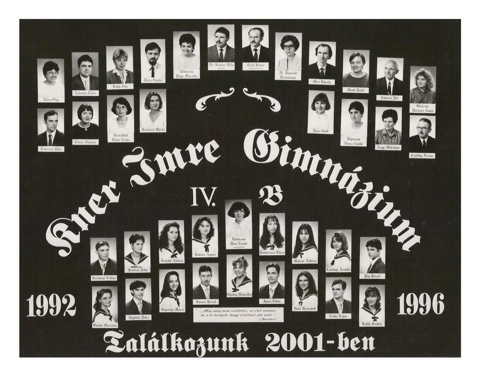 1996 IV. B
